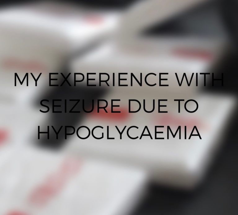 My experience with seizure due to hypoglycaemia